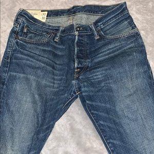 Abercrombie & Fitch Men's Slim Jeans - 32 x 30
